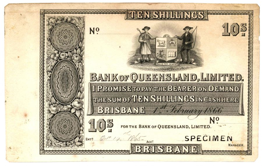 10 Shillings Bank QLD